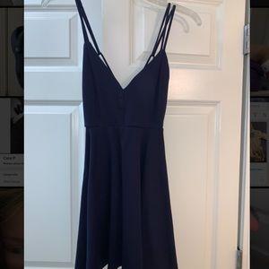 Windsor Navy Blue party dress